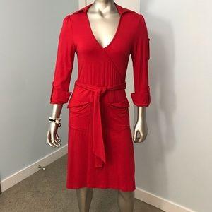 Red Dress by Vero Moda